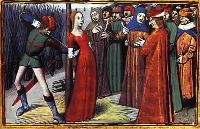 Joan of Arc was executed by burning at the Stake